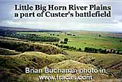 Little Big Horn River battleground - click to go to article
